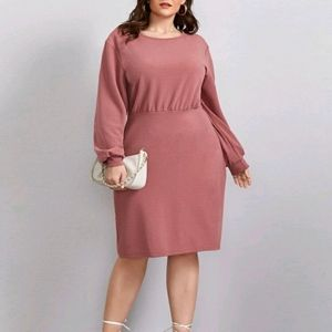 NEW Plus Fitted Dress